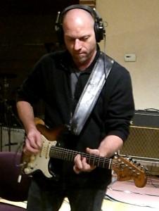 Lance Doss in the Studio